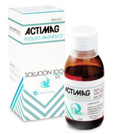ACTIMAG SOLUCION , 1 FRASCO...