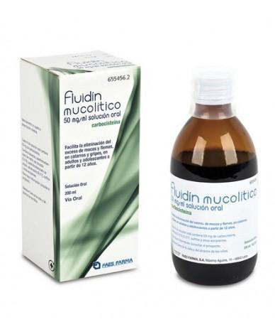 FLUIDIN MUCOLITICO 50 MG/ML...