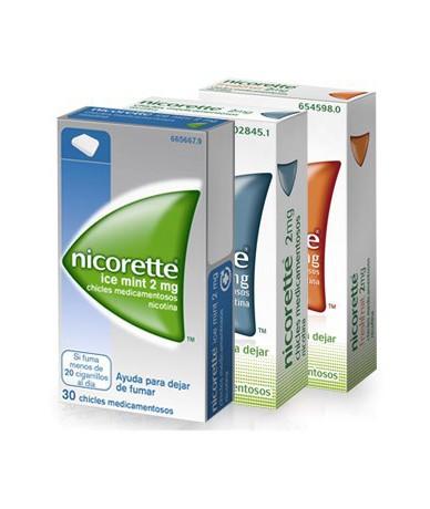 NICORETTE 4 MG CHICLES...