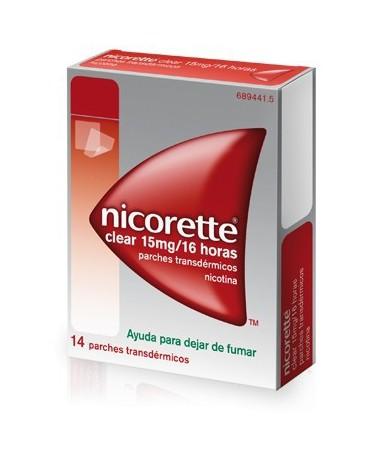 NICORETTE CLEAR 15 MG/16...
