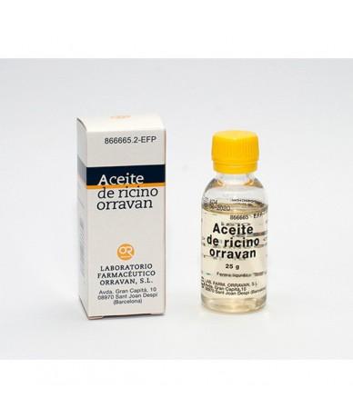 ACEITE RICINO ORRAVAN 1G/ML...