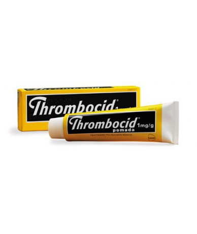 THROMBOCID 1MG/G POMADA, 1...