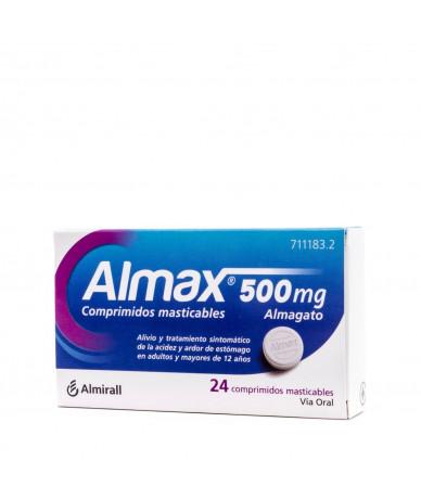 ALMAX 500 MG COMPRIMIDOS...