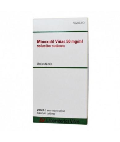 MINOXIDIL VIÑAS 50 MG/ML...