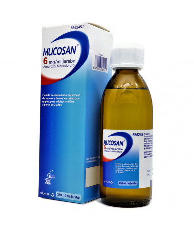 MUCOSAN 6 MG/ ML JARABE , 1...