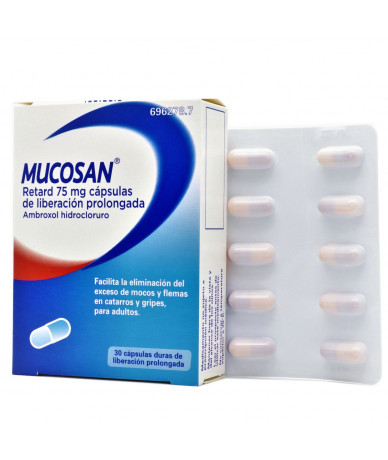 MUCOSAN RETARD 75 MG...
