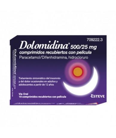 DOLOMIDINA EFG500/25 MG 10...