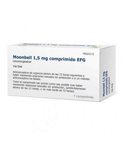 MOONBELL 1,5 MG COMPRIMIDOS...