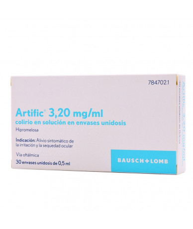 ARTIFIC 3,20 MG/ML COLIRIO...