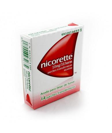 NICORETTE  10 MG/16 H 14...