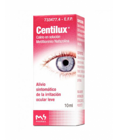 CENTILUX 0,25 MG/ML COLIRIO...