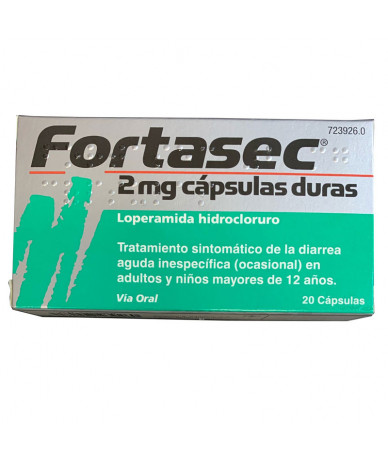 FORTASEC 2 MG CAPSULAS...