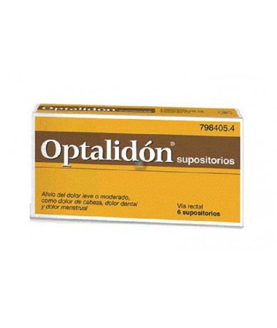 OPTALIDON SUPOSITORIOS, 6...