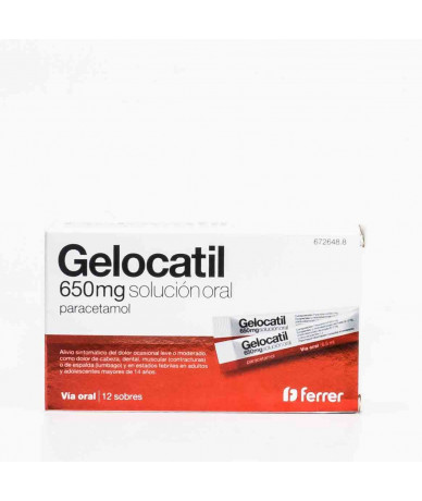 GELOCATIL 650 MG SOLUCION...