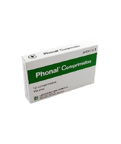 PHONAL COMPRIMIDOS , 10...